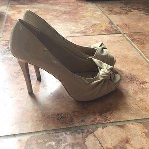 Women's peep toe heels